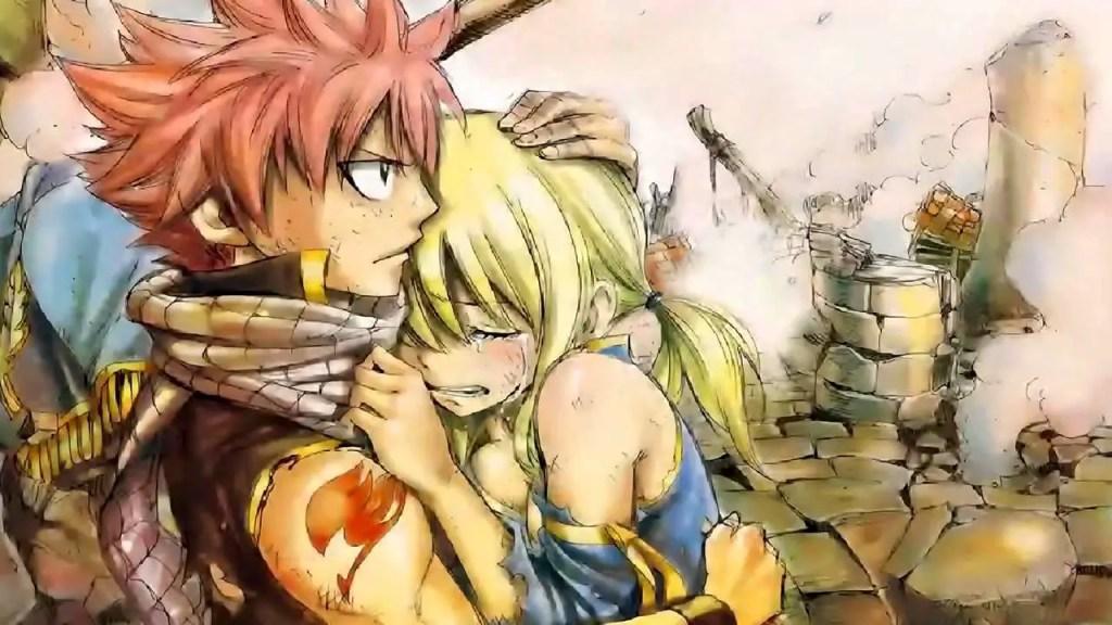 Fairy Tail – Natsu and Lucy Hug