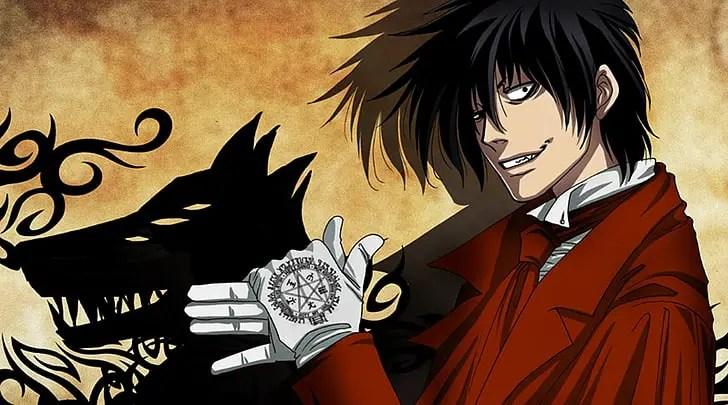 Alucard Hellsing Ultimate insane anime boys