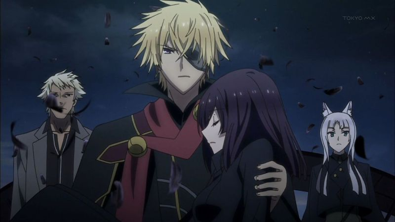 Tokyo Ravens magic anime