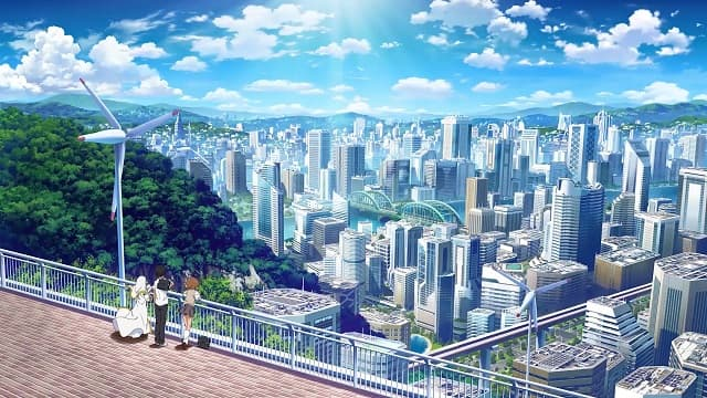 Academy City from A certain Magical Series
