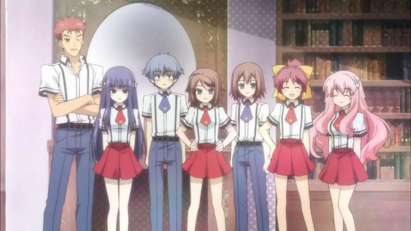 Fumizuki High School from Baka to Test to Shoukanjuu Ni!