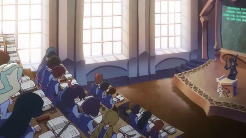 Luna Nova Magical Academy from Little Witch Academia anime schools