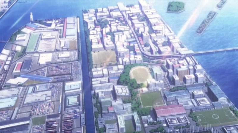 Tokyo Butei High School from Hidan no Aria