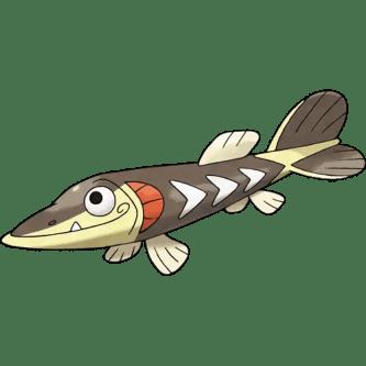 Arrokuda fish pokemon