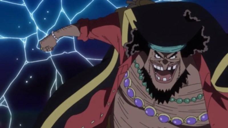 Blackbeard From One Piece
