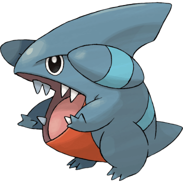 Gible fish pokemon