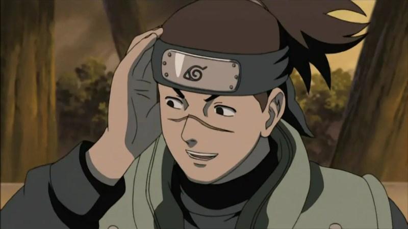 Iruka Umino From Naruto
