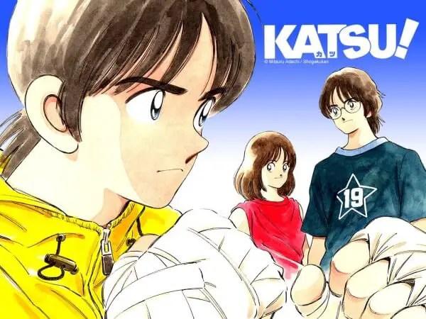 Katsu! boxing manga