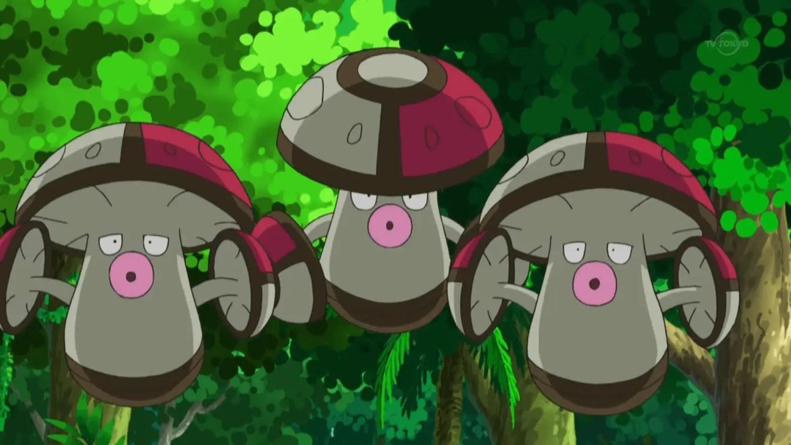 Mushroom Pokemon