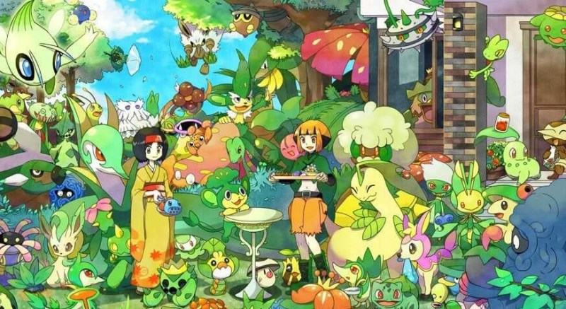 Plant Pokemon