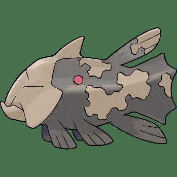 Relicanth fish pokemon