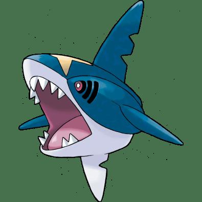 Sharpedo fish pokemon