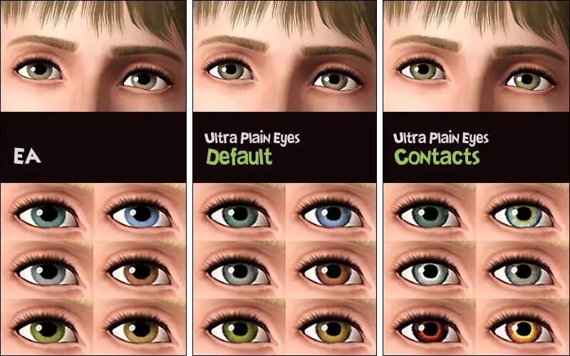 Ultra-Plain Eyes