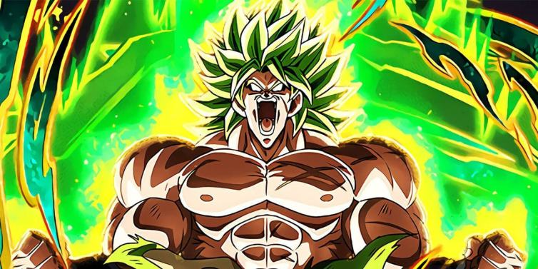 Broly From Dragon Ball Super