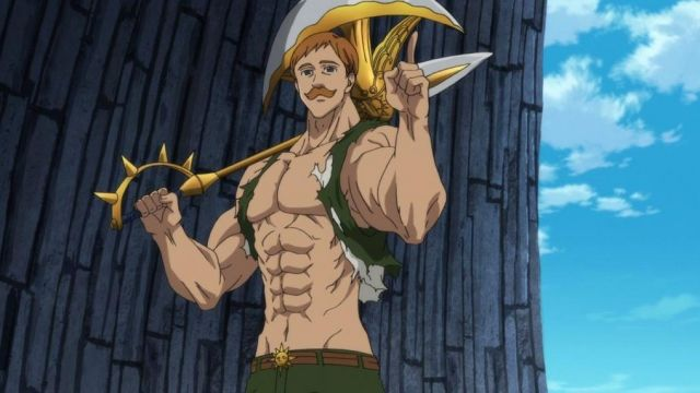 Escanor From The Seven Deadly Sins
