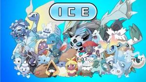 Ice type Pokémon