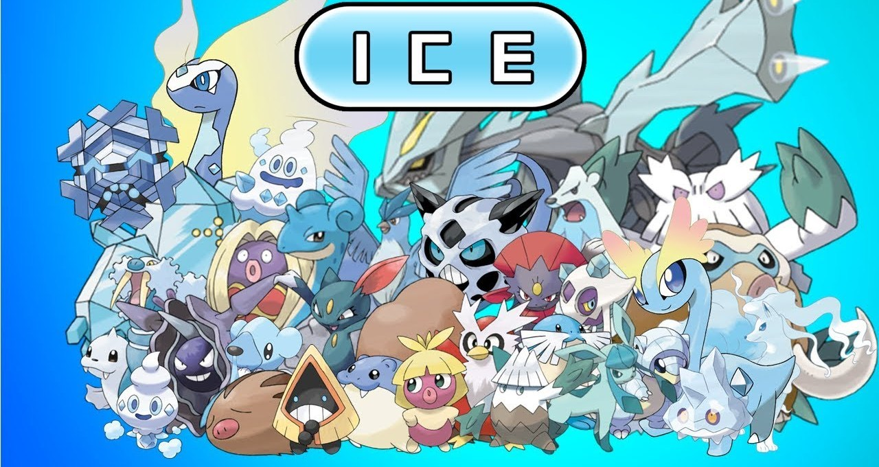 Ice type Pokémon