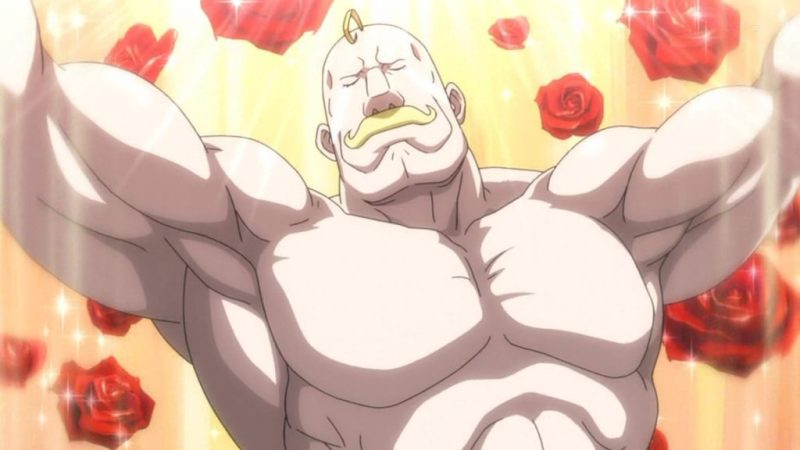 Muscular Anime Characters