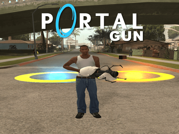 Portal Gun for GTA San Andreas