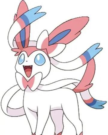 Sylveon Fairy type Pokemon