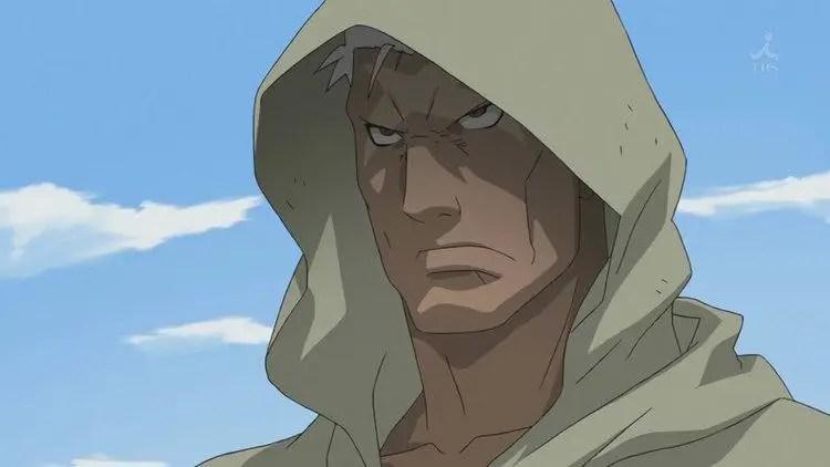 The Scarred Man From Fullmetal Alchemist