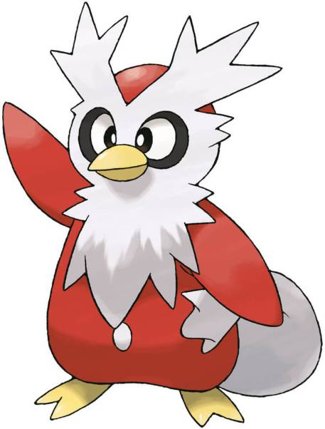 Delibird  ice type pokemon