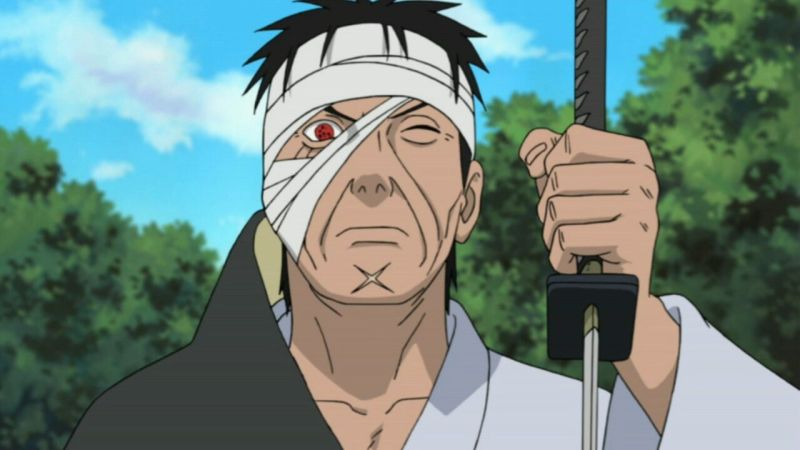 Danzō Shimura From Naruto: Shippuden