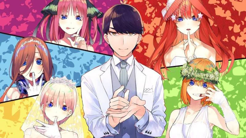 The Quintessential Quintuplets school life anime
