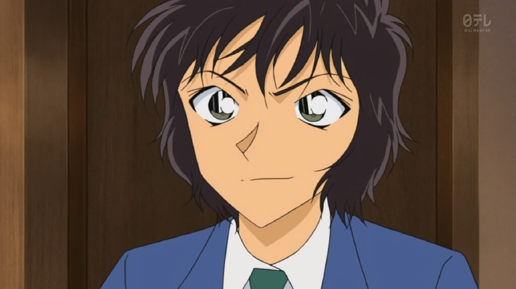 Masumi Sera From Detective Conan Androgynous Anime Characters