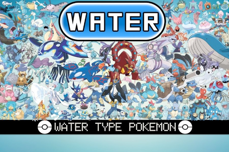 Water Type Pokemon