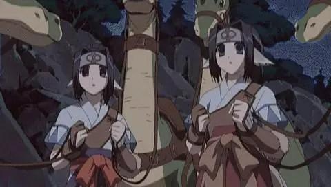 Dorī & Gurā from Utawarerumono