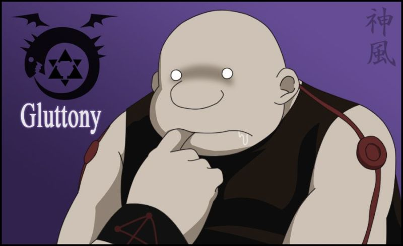 Gluttony from Fullmetal Alchemist