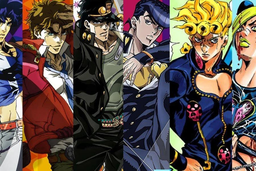 JoJo's Bizarre Adventure Poses