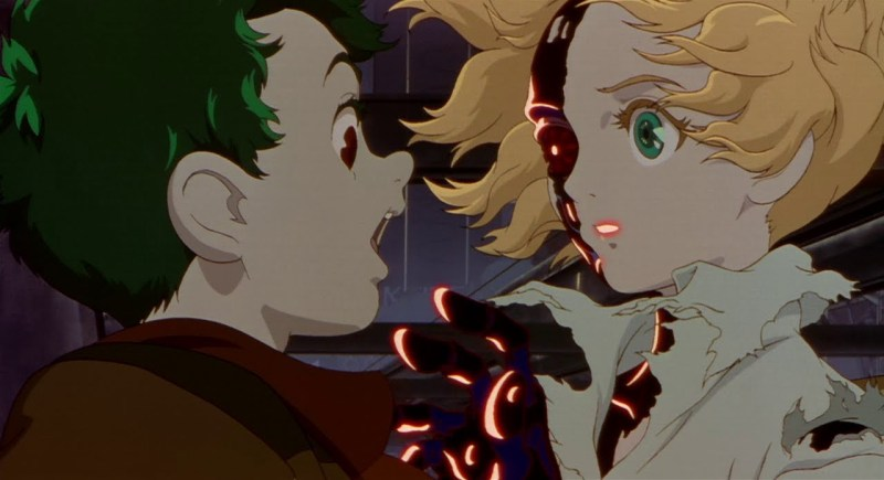Metropolis cyberpunk anime