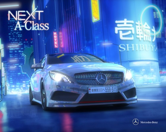 Nico's Mercedes A-class From Next A-class