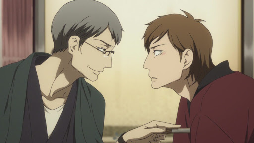 Shouwa and Genroku Era Lover's Suicide Through Rakugo