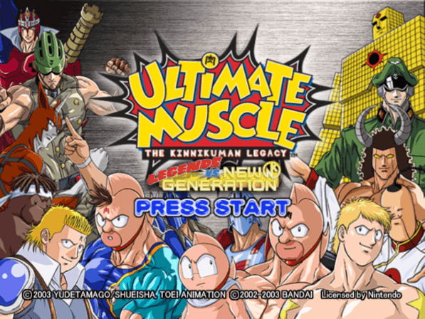 Ultimate Muscle Legends vs New Generation
