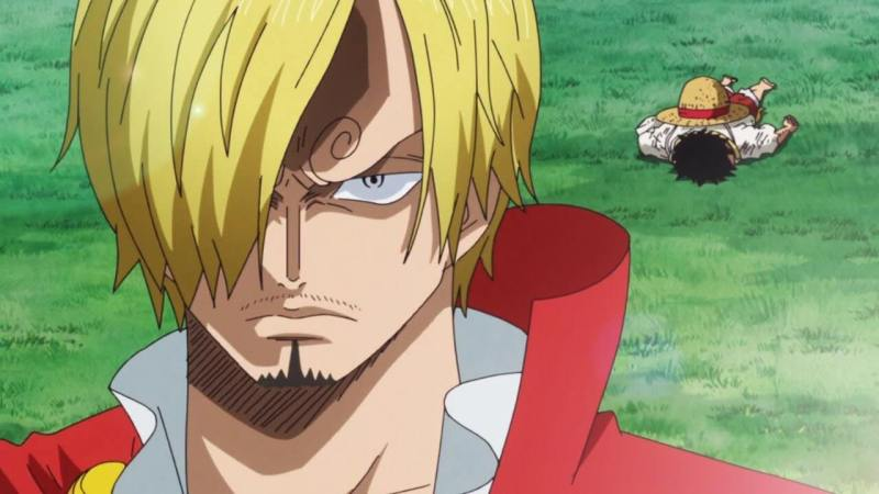 A Heartbreaking Duel- Luffy vs Sanji Part 1 (807)