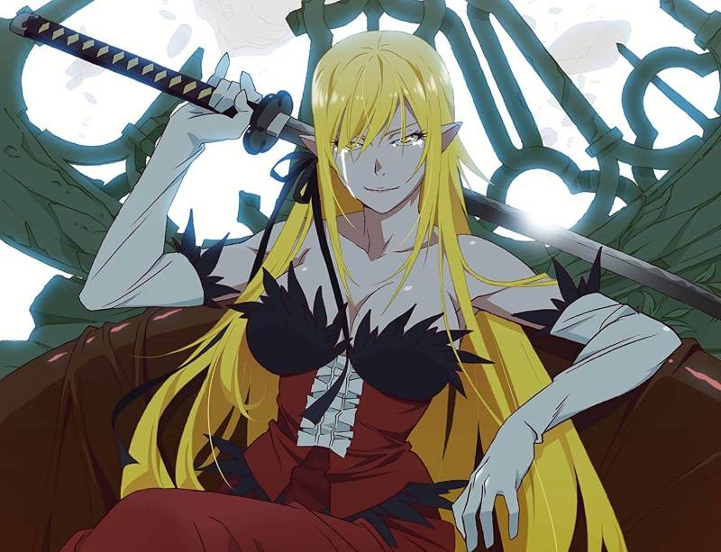 Kiss-Shot-Acerola-Orion-Heart-Under-Blade From The Monogatari series