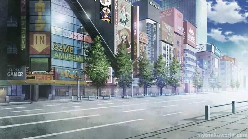 Akihabara From Steins; Gate