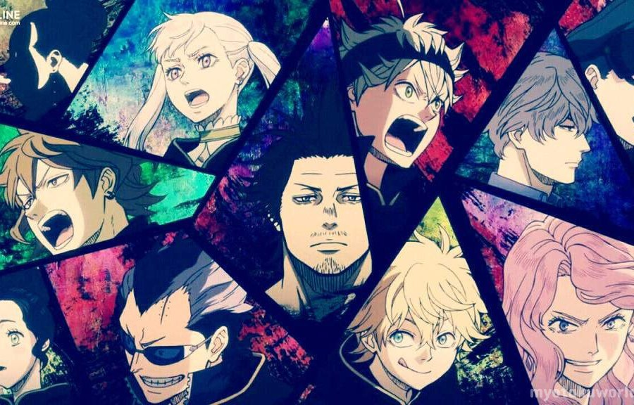 Black Clover Characters