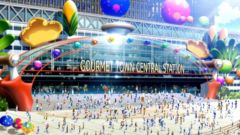 Gourmet Town From Toriko