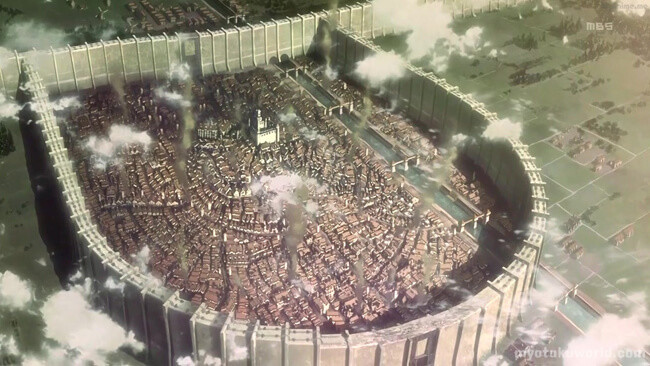 Wall Rose/Trost District From Attack On Titans