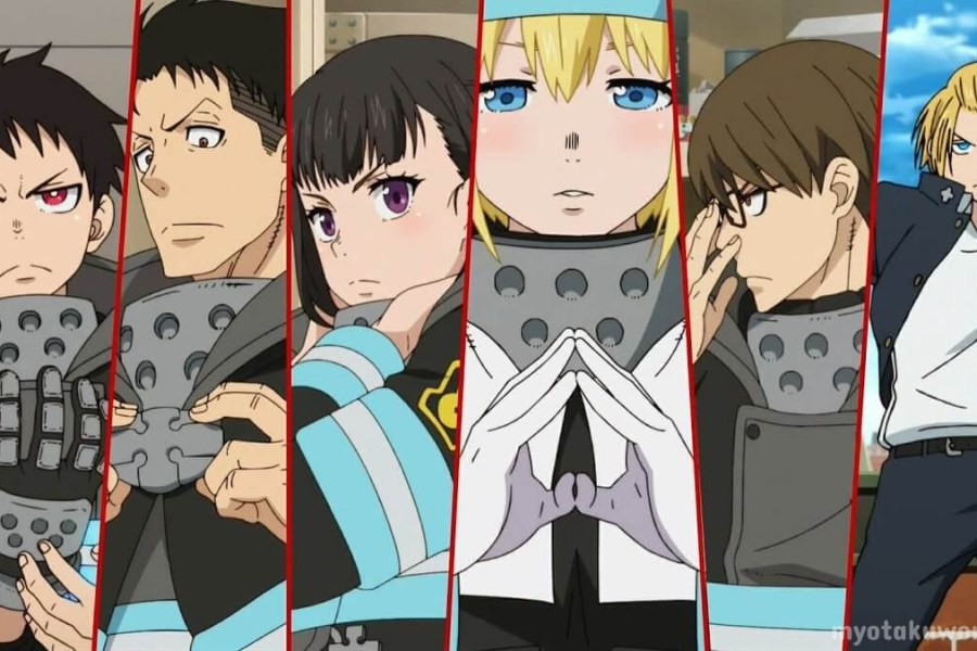 Fire Force Characters