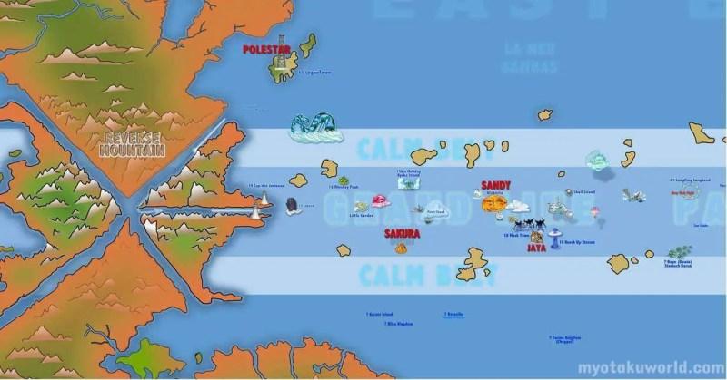 One Piece World Map