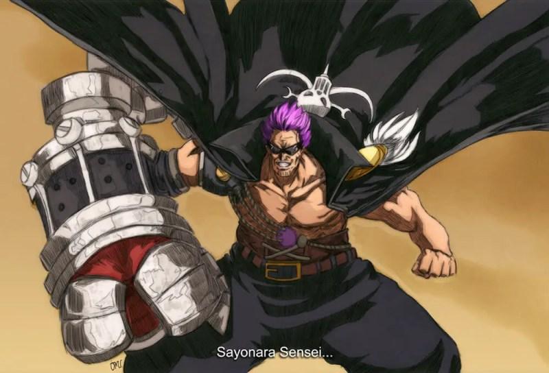 Zephyr a.k.a. Black Fist Zephyr or Z