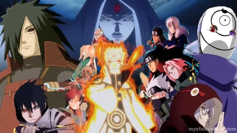 Naruto Shippuden Arcs