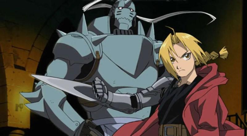 Ed and Alphonse From Fullmetal Alchemist
