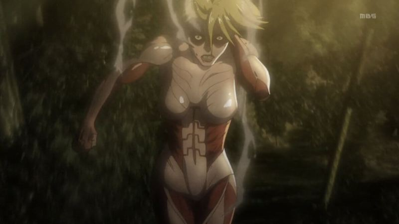 Female Titan From Attack on Titan
