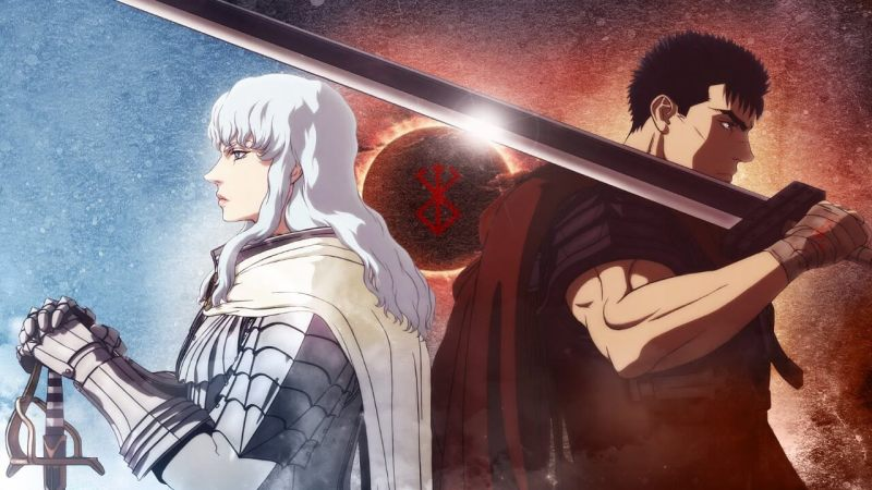 Guts and Griffith From Berserk